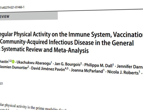 Efectos del ejercicio físico en el sistema inmunitario